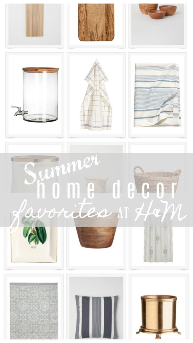 Summer Home Decor from H&M