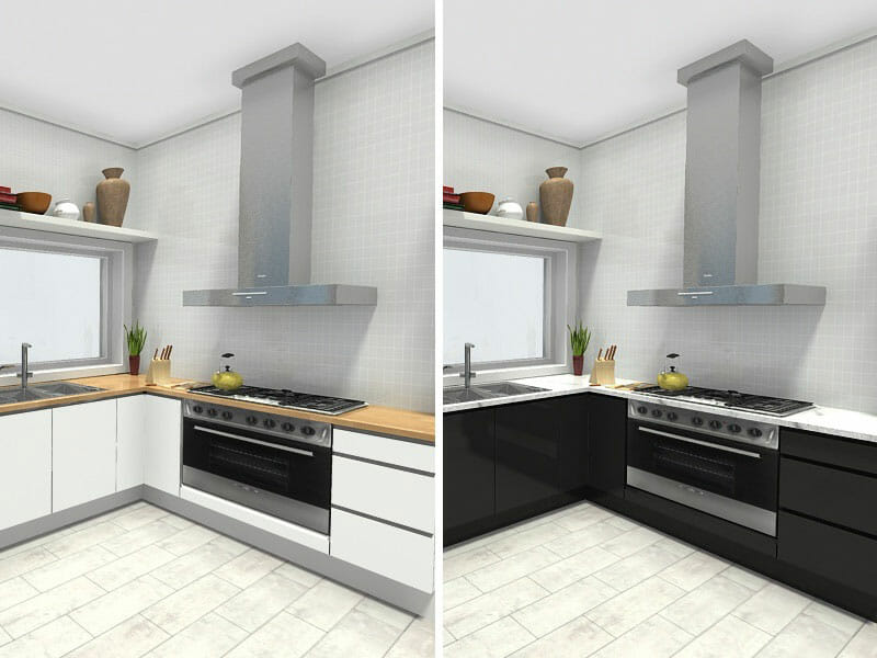 Plan Your Kitchen With RoomSketcher