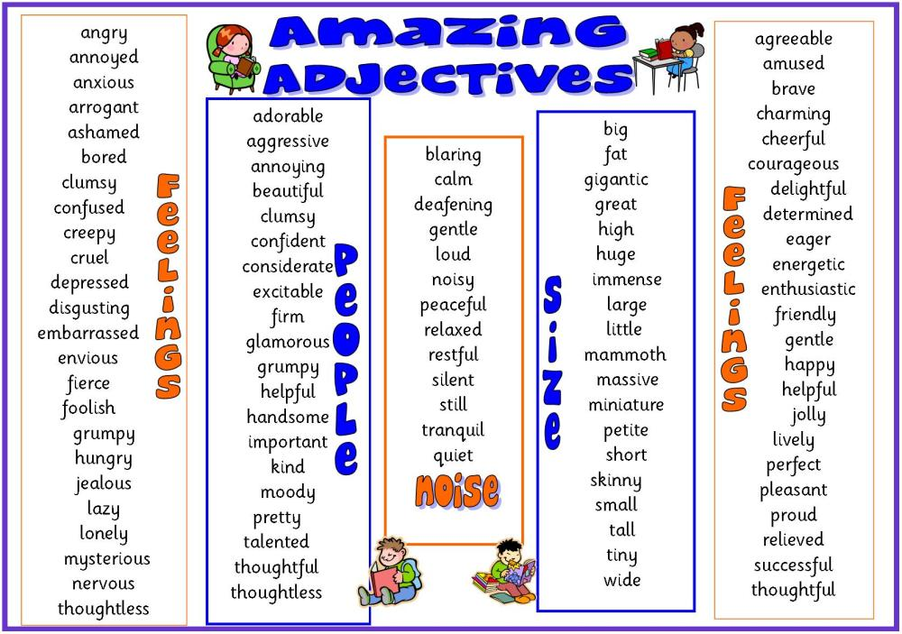 Similes and Adjectives (1/2)