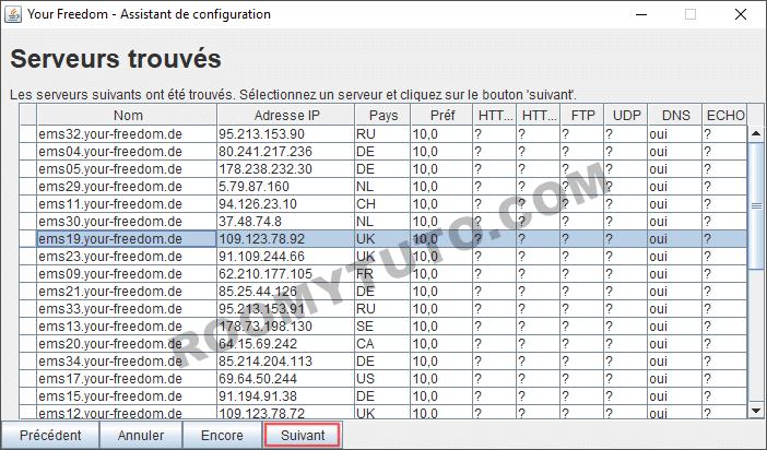 Your-Freedom_Configuration sur PC_6
