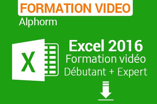 Formation Excel 2016