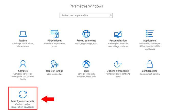 Accèder dans le BIOS -UEFI sous Windows 10_2