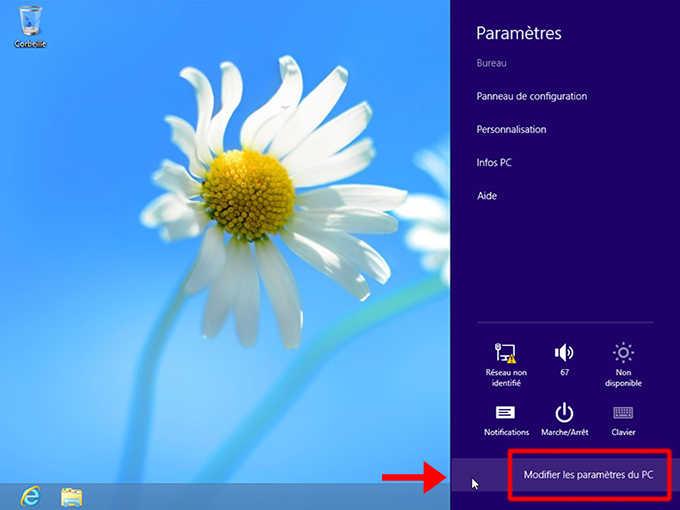 accéder dans le BIOS/UEFI sur Windows 10 et 8_7