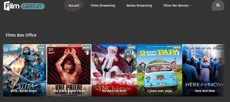 Site de streaming_Filmgratuit