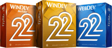 Windev 22, Windev Mobile 22, Webdev 22