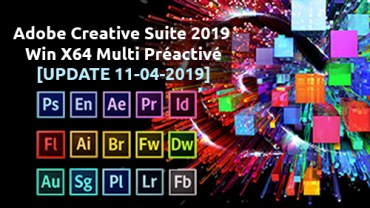 Adobe Creative Cloud Suite 2019
