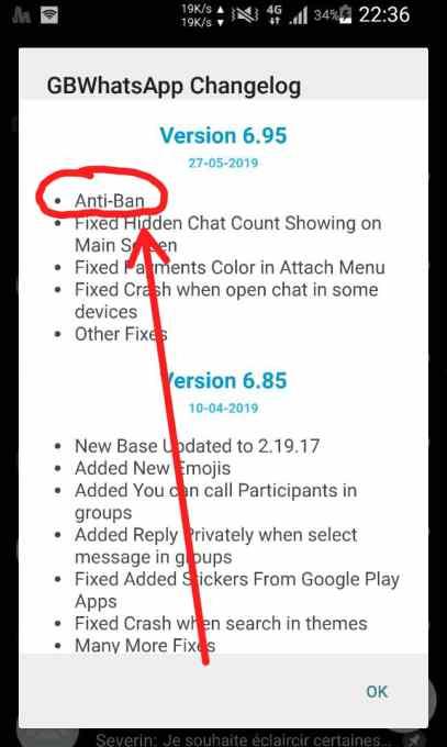Whatsapp antiban, eviter d'être banni sur Whatsapp