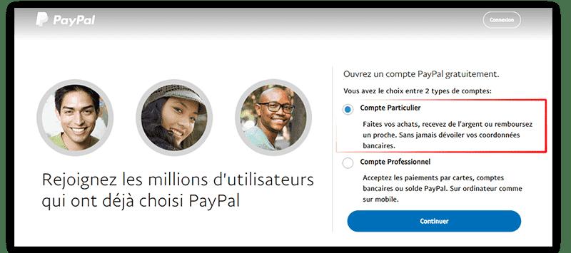 Comment créer un compte paypal en 2019