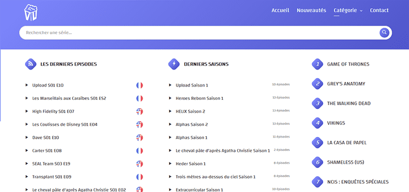 Vustream meilleur site de streaming
