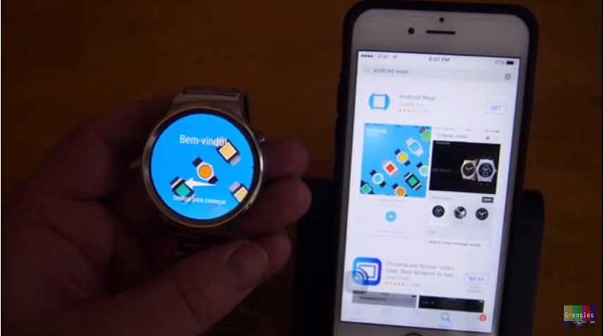 Huawei Watch iPhone 6S 5 Easy Step How to Connect and Setup 1