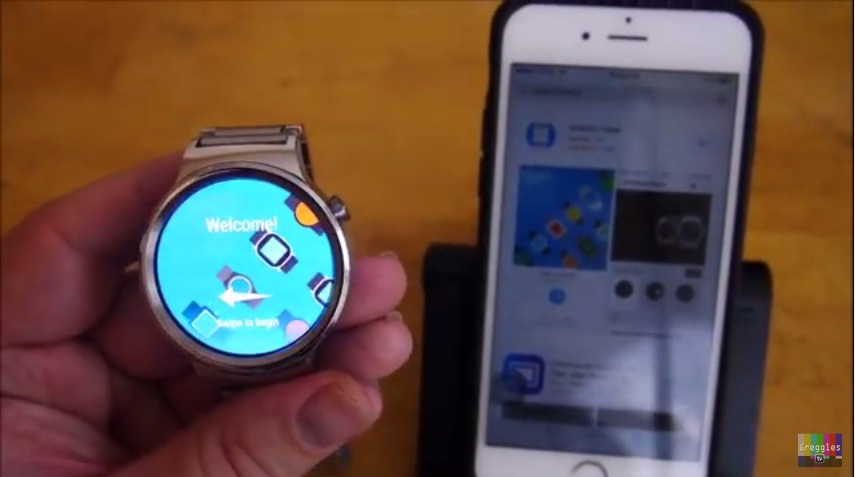 Huawei Watch iPhone 6S 5 Easy Step How to Connect and Setup 2