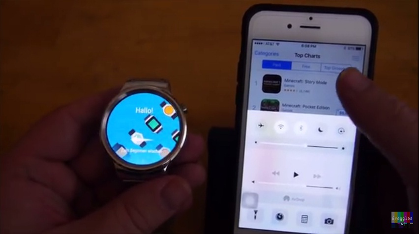Huawei Watch iPhone 6S 5 Easy Step How to Connect and Setup 3 Bluetooth on