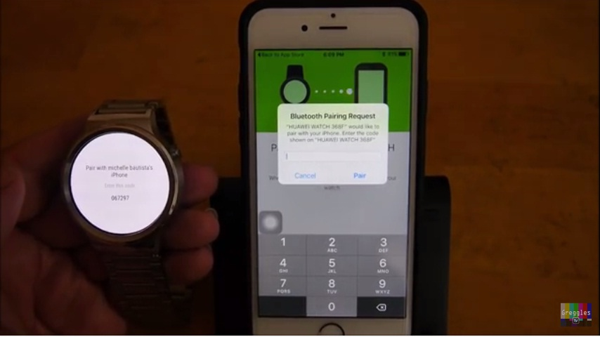 Huawei Watch iPhone 6S 5 Easy Step How to Connect and Setup 6