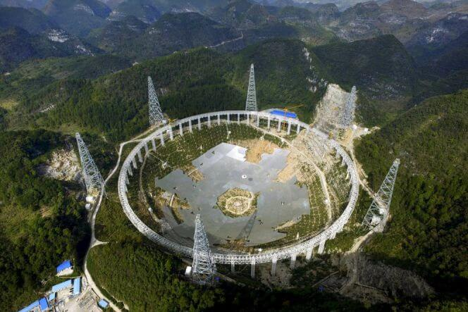 (FAST) 500 Aperture Spherical Radio Telescope, The Chinese Project To Find Aliens