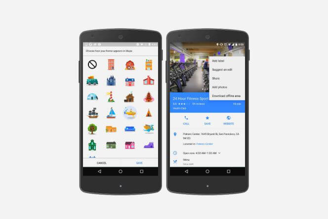 Google Maps Provides 25 Cute Stickers to Decorate Your Favorite Location