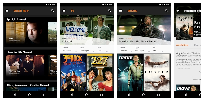 Best Free Movie Streaming android apps 2020