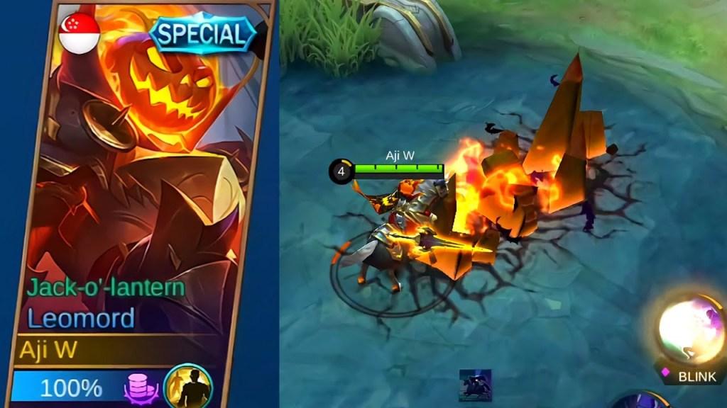 Halloween Exclusive skin Mobile legends