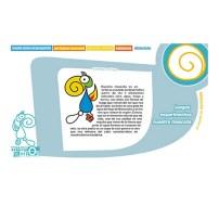 uno de los items de la pagina, donde explica el concepto del proyecto y como nace el personaje del Museo