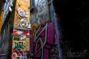 Melbourne Graffiti walls: Hosier Lane