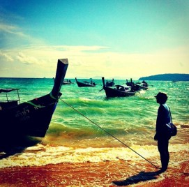 The Long Tail Boats: Krabi, Thailand