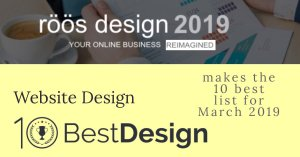 rd+c make the 10 Best Design list for March 2019