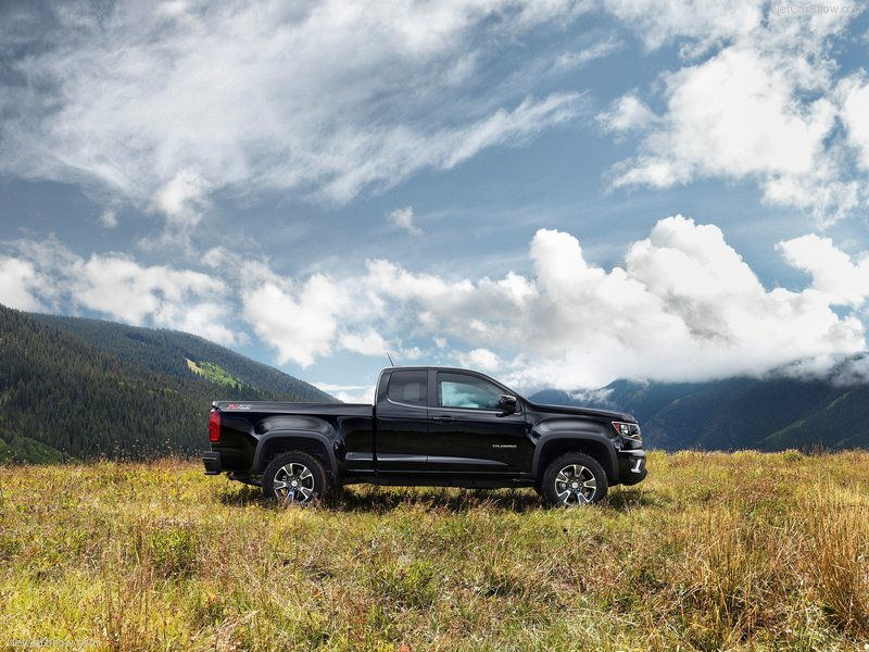 The Chevy Colorado. Goat sold separately.