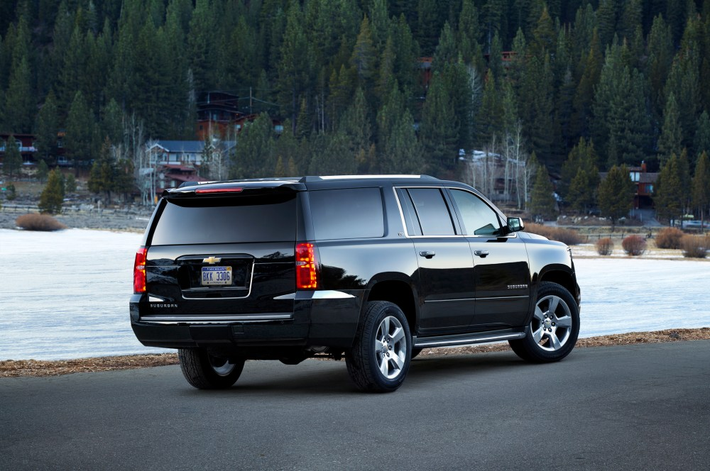 Eighty Two and Counting. 2015 Chevy Suburban (3/4)