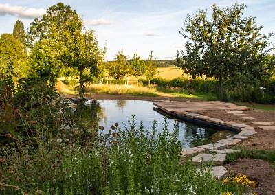 Zwemvijver – Pieter & Linda