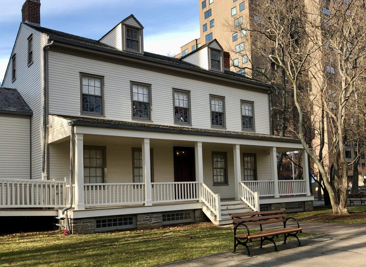 Historic Blackwell House, in the Sun, Winter Afternoon on Roosevelt Island