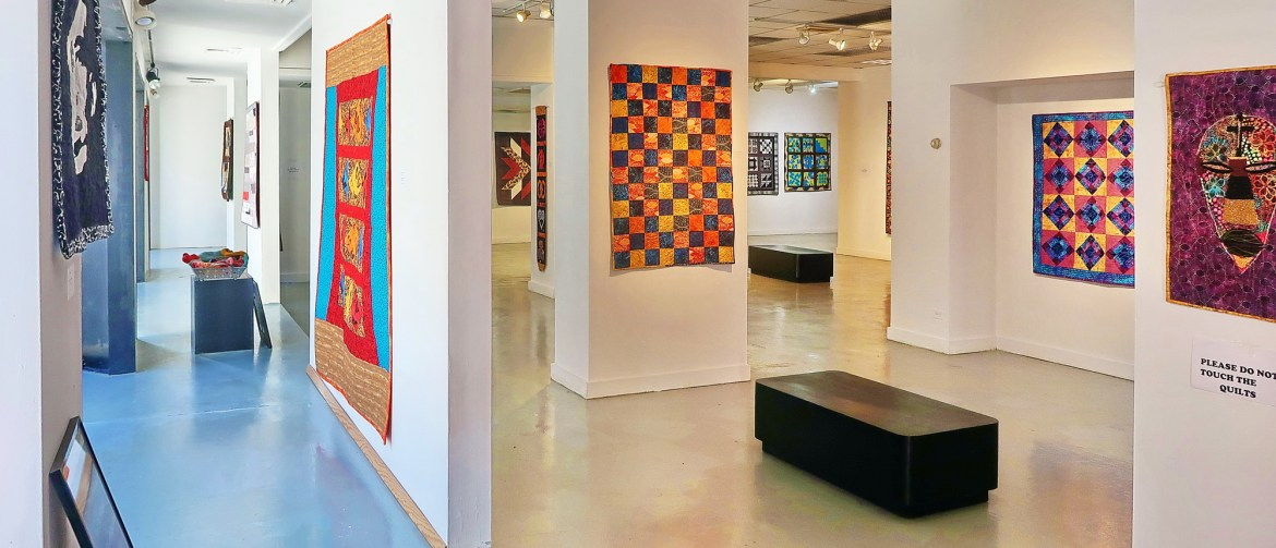 "Eye-Catching Images from ""Quilts,"" RIVAA's Black History Month Exhibit"