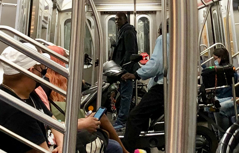 In the NYC Subway, sometimes, things happen like nowhere else…