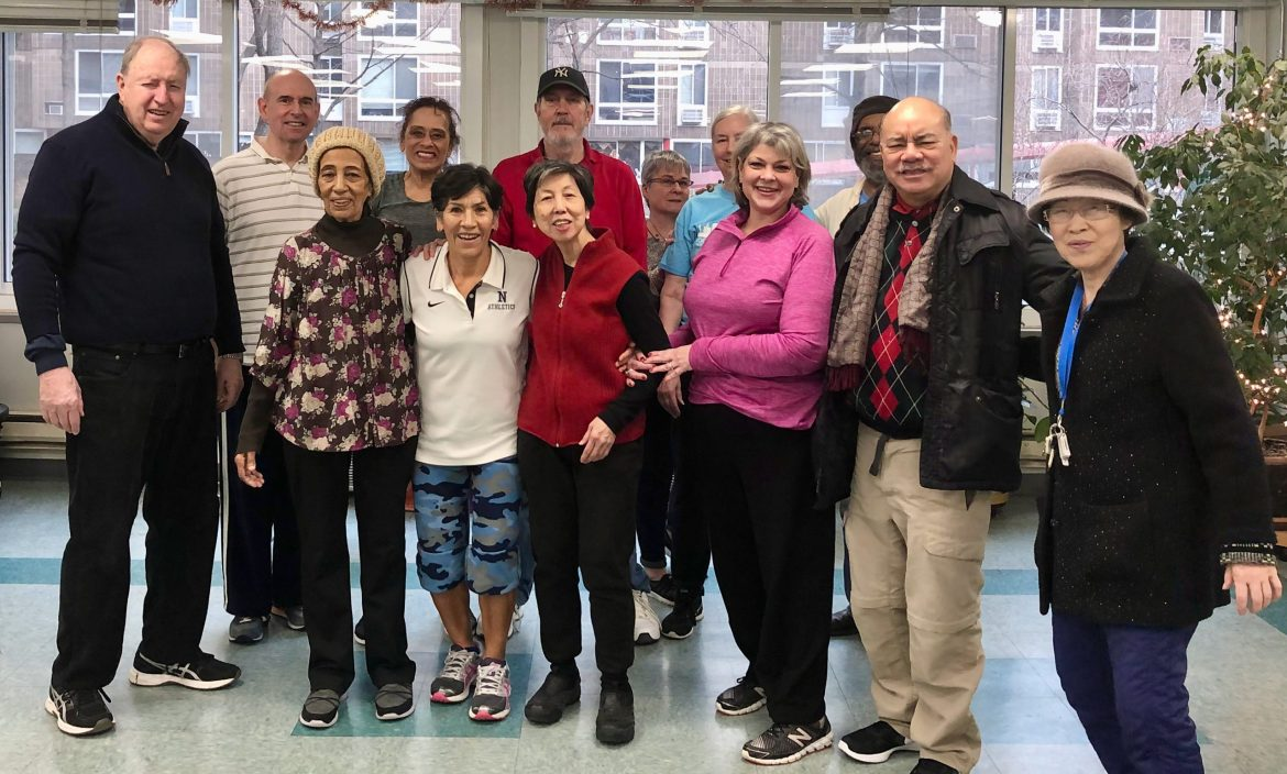 On Monday, open doors welcome a return to semi-normal for Roosevelt Island Seniors