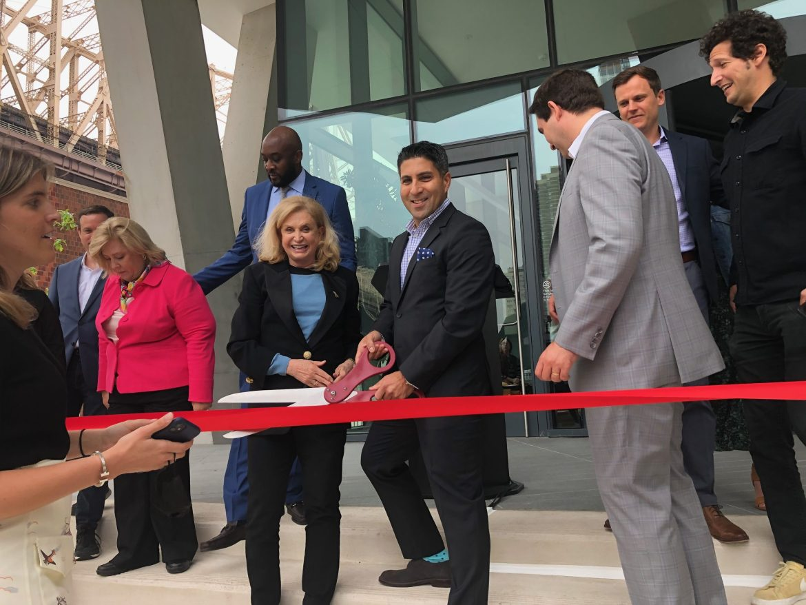 Ribbon-Cutting, At Long Last, for the Graduate Hotel at Cornell Tech