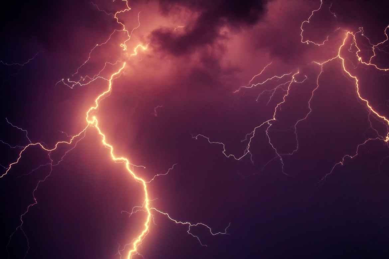 Lightning Strike Hits the World Trade Center