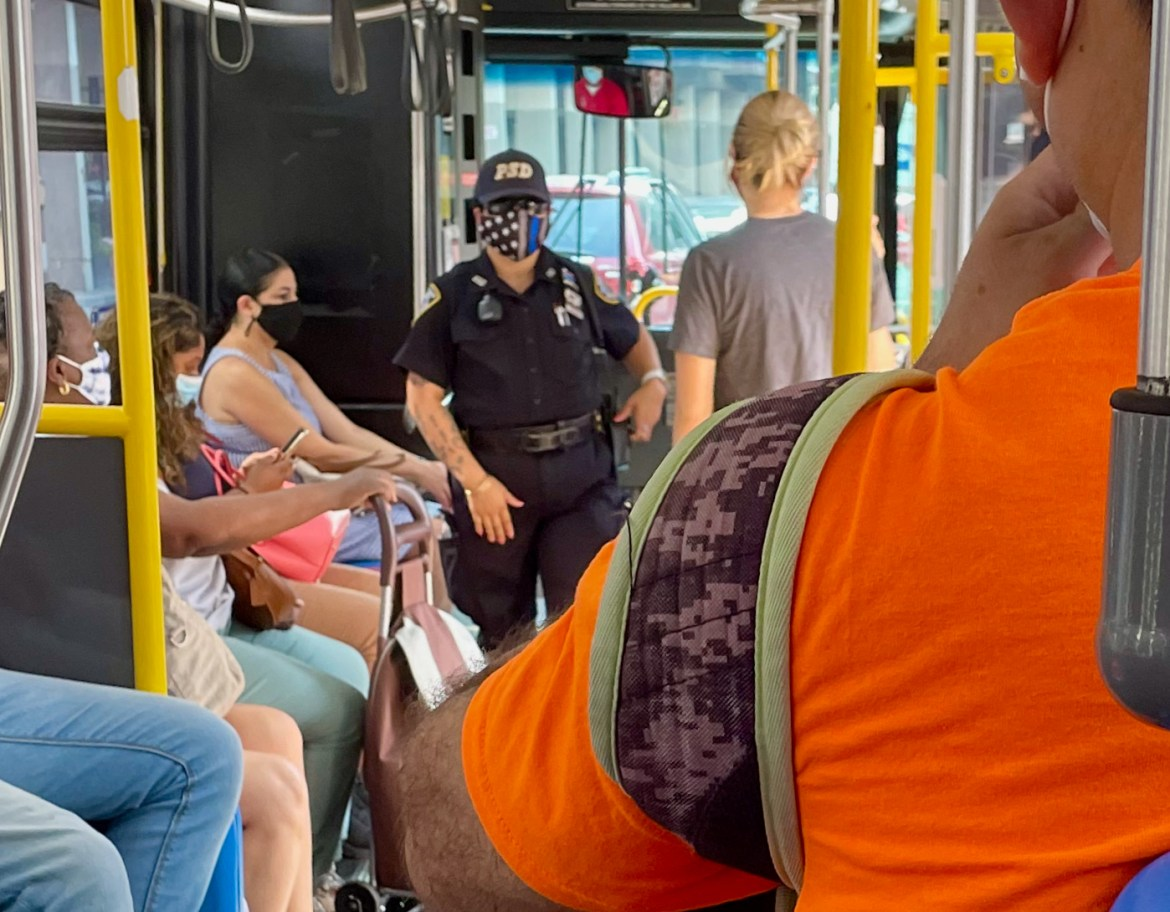 Some good news as PSD steps up its game against maskless Red Bus riders…
