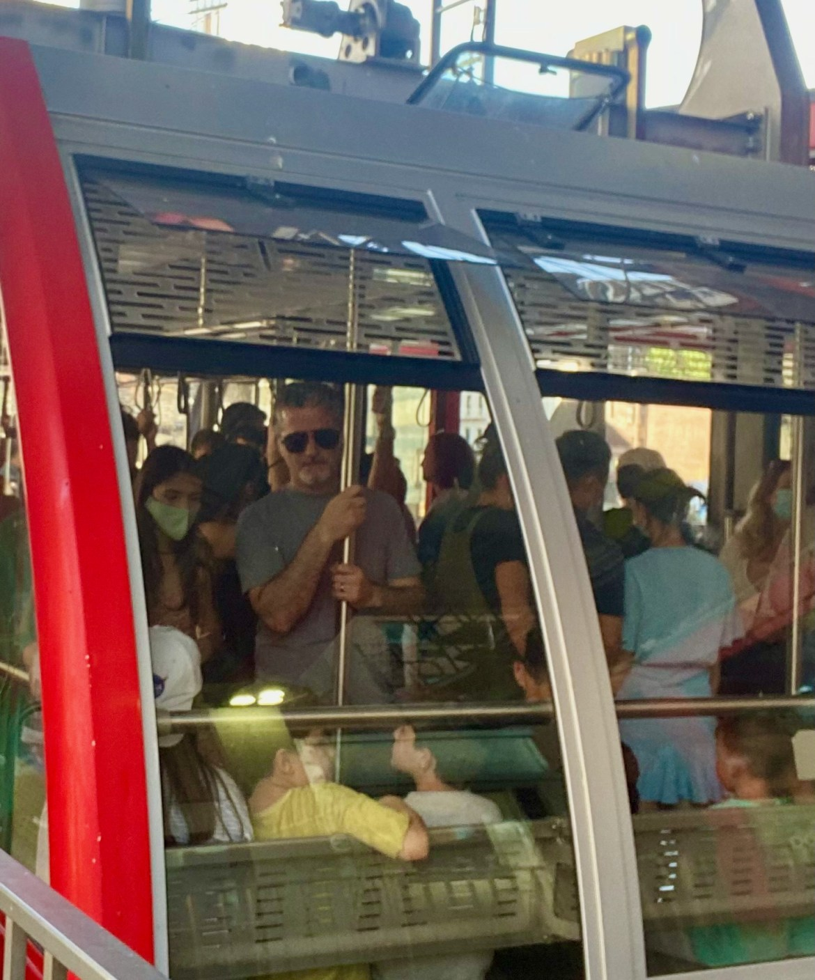RIOC now gambles with safety, ignoring maskless riders squeezing on the Tram