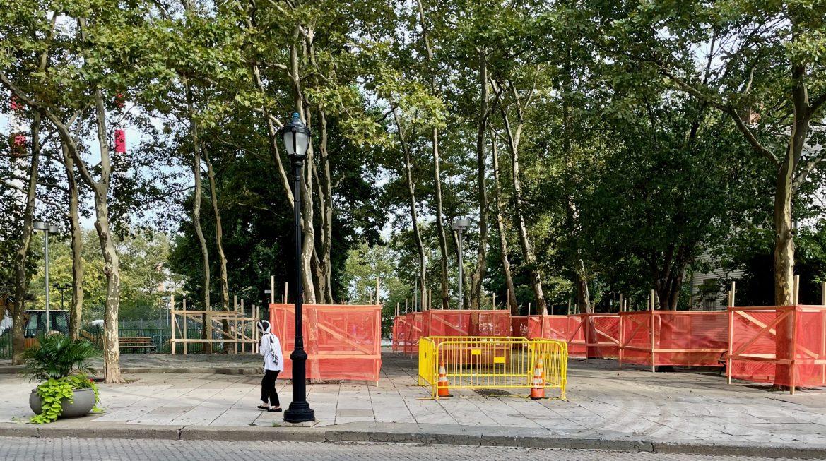 RIOC's New Secret Project Clamps Down Blackwell Plaza