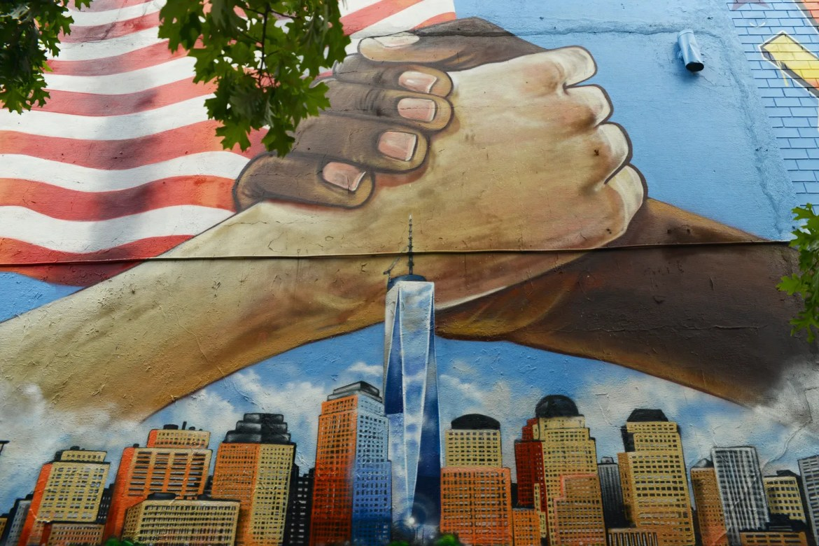 NYC Murals Paint Enduring Pictures of Remembrance, 20 Years After 9/11