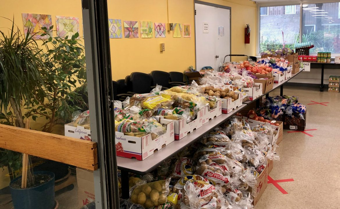Ready to Serve Again, the Roosevelt Island Food Pantry