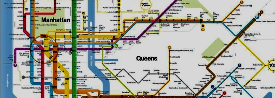 Roosevelt Island Is Nearly Devoured in MTA Subway Map Remake