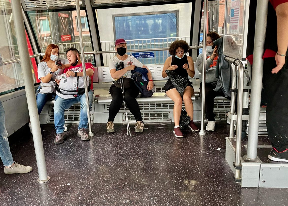 As RIOC stumbles, maskless riders now endanger everyone else on the Tram