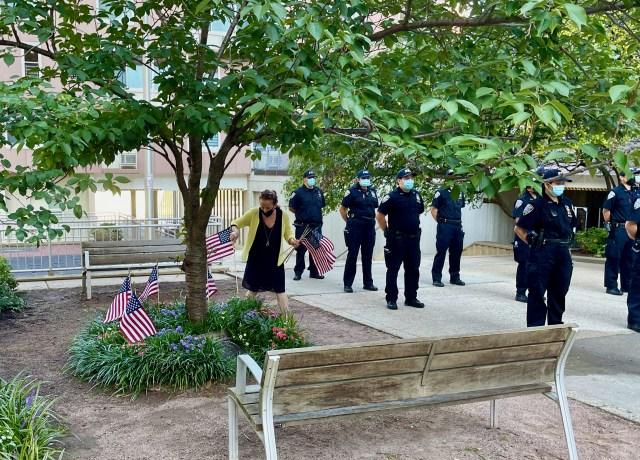 September 2021 on Roosevelt Island-9/11 Tribute
