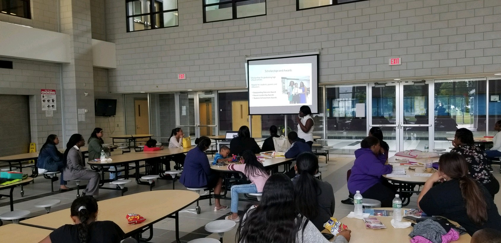 Our First PTA Meeting for the 2018-19 School Year -