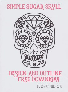 free sugar skull download