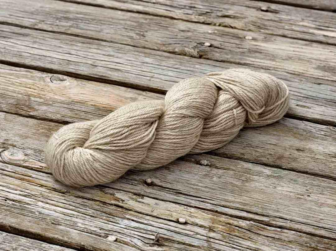 Organic Wool Linen DK Yarn