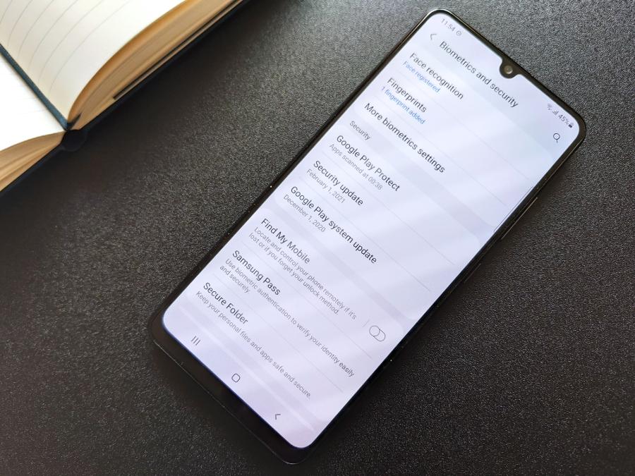 Samsung Galaxy A32 экран