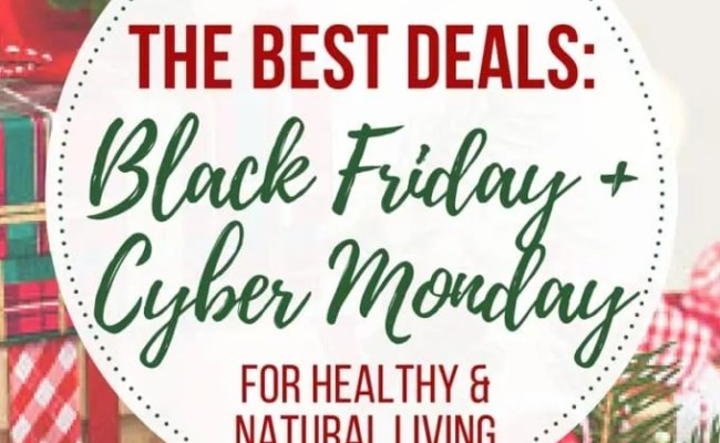 The Best Online Black Friday Deals For Healthy Natural