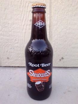 Stewart's Root Beer Glass Bottle