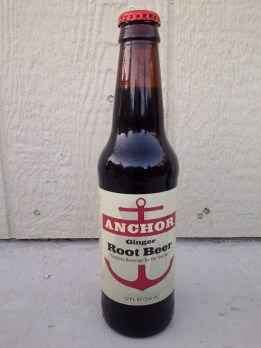 Anchor Ginger Root Beer Glass Bottle