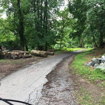 Rock Creek Trail - before renovation
